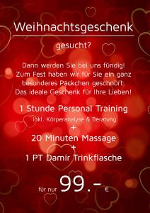 Personal Training Damir Weihnachtsangebot 2016