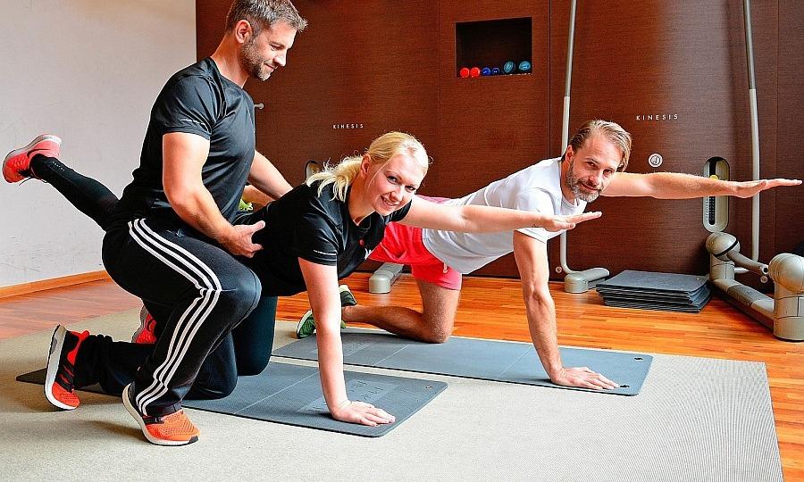 Rückenschmerzen, Rückentraining 1