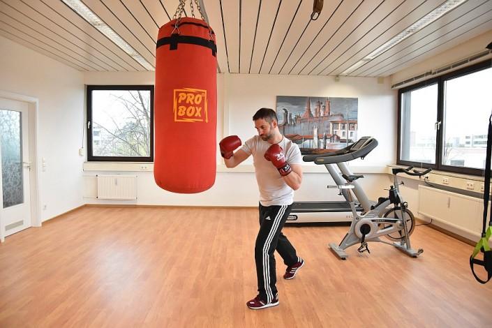 Personal Trainer Damir Kraljic Boxen